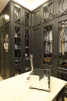 Custom closet ideas walk in islands 68 new Ideas Ikea Closet Organizer, Bedroom Closet Storage, Bedroom Closet Design, Master Bedroom Closet, Closet Designs, Bedroom Decor, Closet Mirror, Closet Vanity, Wardrobe Closet