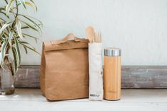Zero Waste Lunch Kit by Global WAKEcup, the perfect gift for Explore more unique gifts in our curated marketplace. Stainless Steel Straws, Stainless Steel Bottle, Reusable Lunch Bags, Best Lunch Bags, Plastic Packaging, Cutlery Set, Cupping Set, Zero Waste, Unique Gifts