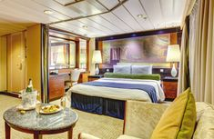 Refurbishment of suites onboard Pullmantur Monarch