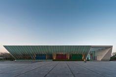 Museo Universitario Arte Contemporaneo, MUAC / Teodoro González de León / México, DF ©LGM Studio - Luis Gallardo