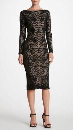 Emery Sequin Gown