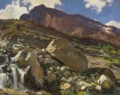 Simplon Pass Art Print by John Singer Sargent. All prints are professionally printed, packaged, and shipped within 3 - 4 business days. Choose from multiple sizes and hundreds of frame and mat options.
