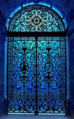 Iron door of São Bento Church - Rio de Janeiro (RJ) - Brazil