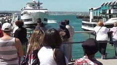 Ανεξέλεγκτο πλοίο προσέκρουσε σε προβλήτα γεμάτη με κόσμο (βίντεο)