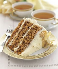 This cake can be prepared one day ahead. Sweetened cream of coconut is available in the liquor section of most supermarkets.