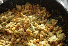 cizrna a kuřecí maso Vegetables, Food, Veggie Food, Vegetable Recipes, Meals, Veggies