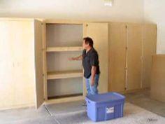 diy garage storage closet - Google Search