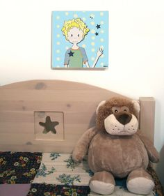 My Star  Canvas Print for a Boys Room by RotemZ on Etsy