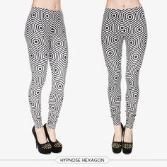 9920e3f7d4b63 Zohra Women Colour Geometry Printing Legging High Elastic Fitness Legging  Trousers Pants
