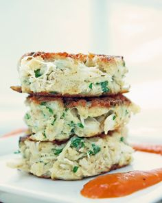 A delicious low carb and gluten free crab cake recipe that is simple to make but impressive enough for special occasions!