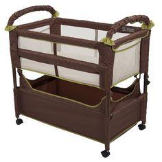 Co Sleeper Crib Arms Reach Co Sleeper Baby Bed Bassinet Side Sleeper Safe Sleep  #ArmsReach