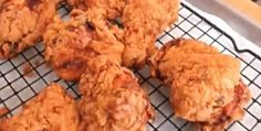 Spicy triple-dipped fried chicken