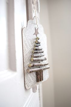 Recycled Paper Twiggy Tags
