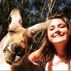 Julie getting to know the locals on the Gold Coast #australiadelivers #australia #iloveaustralia #mediatart #kangaroo #kangarooselfie #goldcoast #currumbin #currumbinwildlifesanctuary #selfie #arcadiaabroad #ArcadiaAustralia #ig_australia #igersgoldcoast by arcadiaaustralia http://ift.tt/1X9mXhV