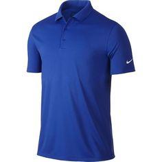 5a9e4ce46f451 Nike Golf Victory Solid Polo - Game Royal White Polo Tees