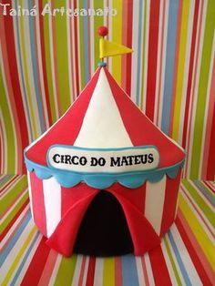 Circo   Tainá Artesanato   350428 - Elo7