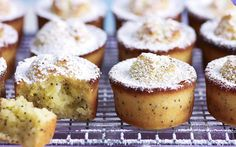 Orange and poppy seed friands recipe | FOOD TO LOVE