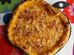 As receitas lá de casa: Tarte de maçã com creme custard