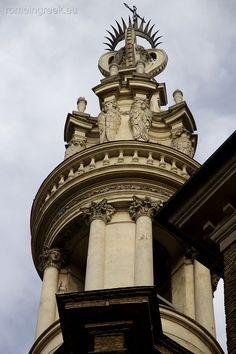 Basilica di Sant'Andrea delle Fratte, campanile di Borromini