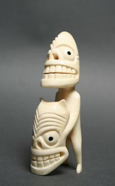 A carved representation of a tupilak, Greenland  In Greenlandic Inuit (Kalaallit) traditions, a tupilaq (tupilak, tupilait, or ᑐᐱᓚᒃ)[1][2] was an avenging monster TupilakUnidentifiedGreenland  Ivory
