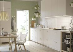 IKEA® | Profile Ikea Kitchen, Kitchen Decor, Kitchen Cabinets, Ikea Usa, Scandinavian Style Home, Beautiful Space, Decor Styles, Living Spaces, Sweet Home