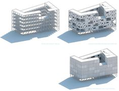 Collective Housing Units - By LAN Architecture