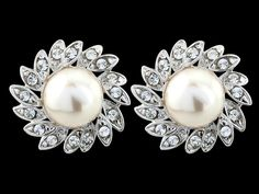 NEW STOCK  VINTAGE TREASURE EARRINGS - ONLY £11!  Vintage inspired cz crystal Earrings with an ivory faux pearl in a truly Glamorous design - measures approx 1.5cm x 1.5cm http://www.vintageaddress.com/Vintage_Treasure_Earrings/p1143724_8574775.aspx