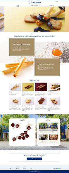 YOKUMOKU   A long-established confectionery brand in Japan https://www.yokumoku.co.jp/en/