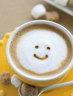 Cute Coffee Art :)