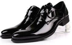 Shoes - Black genuine leather dress shoes