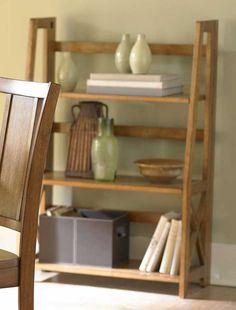 Homelegance Britanica Folding Bookcase in Oak Price: $134.00