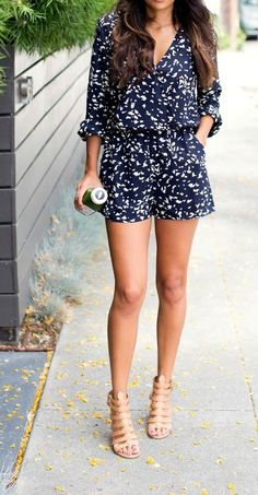 I like the idea of a romper (this style & pattern too) but not sure if it would work for me.   rompers 7