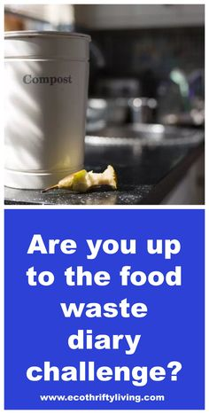 Take the food waste diary challenge - a great way to find out about the scale of the food waste problem in your home!