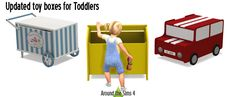 Around the Sims 4 | Custom Content Download | IKEA Toddler stuff & basics