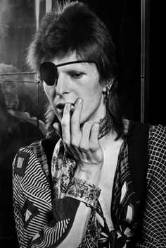 Keep your 'lectric eye on me, babe!--David Bowie
