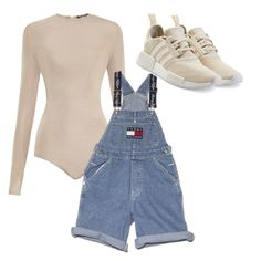 """""""//"""" by beatriceorholm ❤ liked on Polyvore featuring Balmain, Ralph Lauren and adidas Originals"""