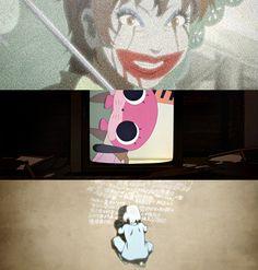 paranoia agent | Tumblr Excel Saga, Gatchaman Crowds, Azumanga Daioh, Satoshi Kon, Revolutionary Girl Utena, Lovely Complex, Nichijou, Japanese Film, Spooky Scary