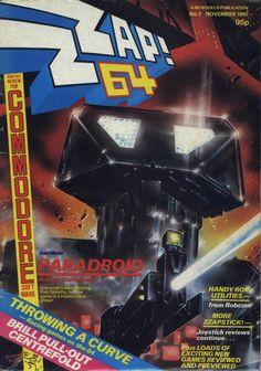 Zzap 64 - Paradroid (November 1985) #1980s