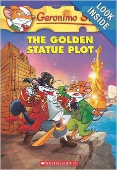 Geronimo Stilton #55: The Golden Statue Plot: Geronimo Stilton: 9780545556293: Amazon.com: Books
