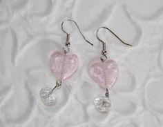 Cuori rosa trasparenti