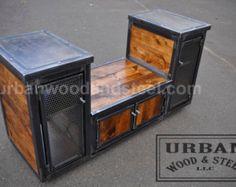 Urban Stereo Locker by urbanwoodandsteel on Etsy