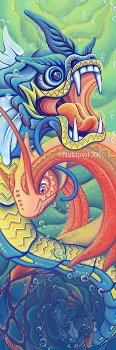 Dragon Dance by ~Noktowl on deviantART