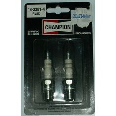 2 New Champion Spark Plug NIP Diameter 19 mm Reach Listing in the Spark Plugs & Glow Plugs,Ignition System,Cars Parts & Accessories,Parts & Accessories,Cars & Vehicles Category on eBid Canada Car Parts, Truck Parts, New Champion, Ignition System, Spark Plug, Plugs, Glow, Canada, Trucks