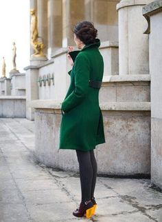 I am dying to find a great emerald green coat for Fall 2011. Let me know if you spot any affordable versions!
