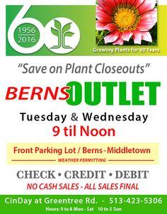 Check Out Http://bernsgardencenter.com! Berns Garden Center Provides  Annuals,