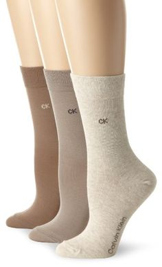 Calvin Klein Women's 3 Pack Flat Rib Crew Socks « ShoeAdd.com – More Shoes For You Every Day