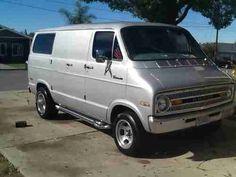 70s Style Vans | 1973 dodge tradesman street van 70's style shorty van california ...