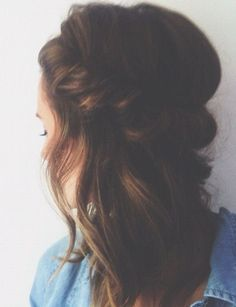 hairstyle inspiration ~ hair twist crown hairdo