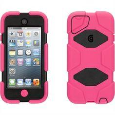 Survivor Case for iPod Touch 5 - Pink/Black