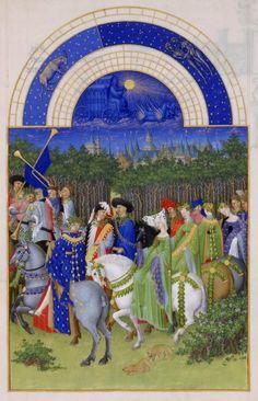 Mayo en Las muy ricas horas del duque de Berry - Didactalia: material educativo